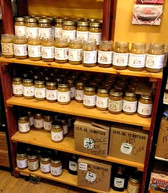 This grocery store called 'Colonel Mustard's' had the widest selections of jams, honeys and salsas I've ever seen. I was in heaven.