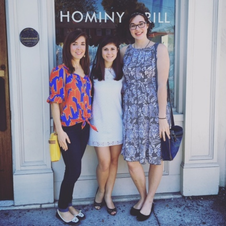 Birthday brunch at Hominy Grill. Highly recommend it next time you visit Charleston!